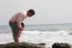 Papa en me Royalty-vrije Stock Afbeeldingen