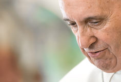 Papa Francis Fotografia Stock