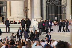 Papa Francis em Roma Foto de Stock Royalty Free
