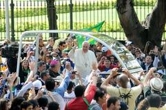 Papa Francisco image libre de droits