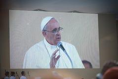 Papa Francisco Fotografía de archivo libre de regalías
