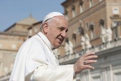 Papa Francisco foto de archivo libre de regalías