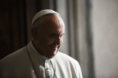Papa Francisco imagen de archivo libre de regalías