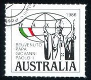 Papa Giovanni Paolo II Royaltyfri Fotografi