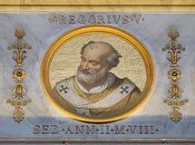 Papa Gregory V imagem de stock