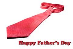 Papa heureux du jour de père Photos libres de droits