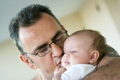 Papa and his princess Stock Photo