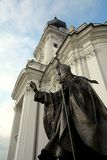 Papa-John- Paul Iistatue Lizenzfreies Stockbild