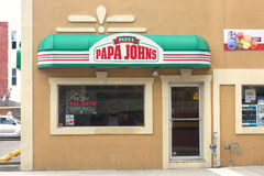 Papa John's Pizza Stock Images