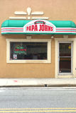 Papa John's Pizza Royalty Free Stock Photography