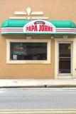 Papa John's Pizza Royalty Free Stock Photography
