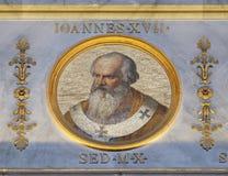 Papa John XVII imagem de stock