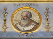Papa John XVII fotografia de stock