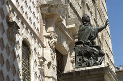 Papa Julio III, Perugia, Italia Fotografía de archivo