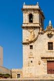 Papa Luna Castle In Spain Arkivfoto