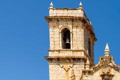 Papa Luna Castle In Spain Fotografering för Bildbyråer