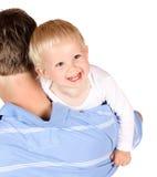 Papa met baby Royalty-vrije Stock Fotografie