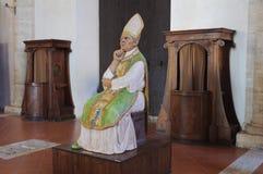 Papa Pius II - Pienza fotografia de stock