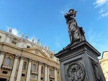 Papa Pius IX em St Peter & em x27; quadrado de s Imagens de Stock Royalty Free