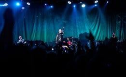 Papa Roach à Moscou Images libres de droits