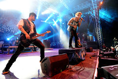 Papa Roach Fotografie Stock Libere da Diritti