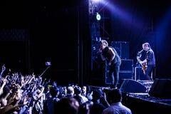 Papa Roach en Moscú Fotografía de archivo libre de regalías