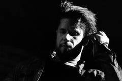 Papa Roach i Moskva Fotografering för Bildbyråer