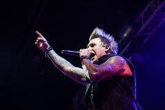 Papa Roach a Mosca Immagine Stock Libera da Diritti