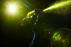 Papa Roach in Moscow Royalty Free Stock Photo