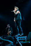 Papa Roach in Moscow Royalty Free Stock Photos