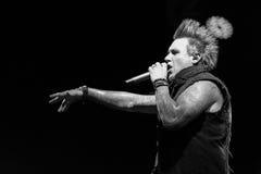 Papa Roach w Moskwa Zdjęcia Royalty Free