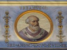 Papa Urbano II Imagens de Stock