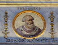 Papa Urbano II Fotografia de Stock