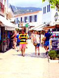 Papadiamanti, Skiathos town, Greece. Royalty Free Stock Photo