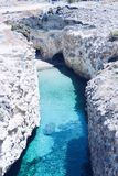 Papafragas strand, Milos Island, Grekland arkivfoton