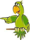 Papagaio ilustração royalty free