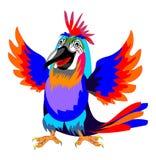 Papagaio de Smilling Imagem de Stock Royalty Free
