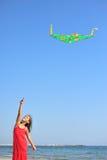 Papagaio do vôo Fotografia de Stock Royalty Free