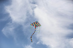 Papagaio do vento imagens de stock