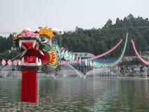 Papagaio gigante do dragão Imagem de Stock