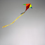 Papagaio no céu nebuloso Imagens de Stock Royalty Free