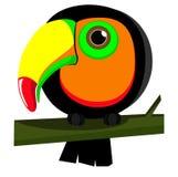 Papagaio Toucan ilustração stock