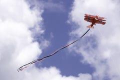 Papagaio vermelho do avião Foto de Stock Royalty Free