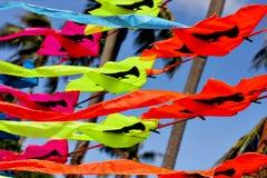 Papagaios brilhantes de comércio em Tailândia Imagem de Stock Royalty Free