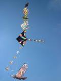 Papagaios no céu Imagens de Stock Royalty Free