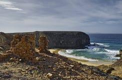 Papagayo beach Royalty Free Stock Images