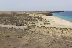 Papagayo beach. Stock Photos