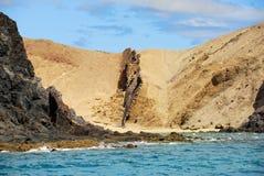 Papagayo beach, Lanzarote Royalty Free Stock Photography