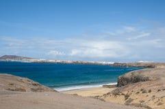 Papagayo beach Stock Photography