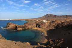 Papagayo Lanzarote Images stock